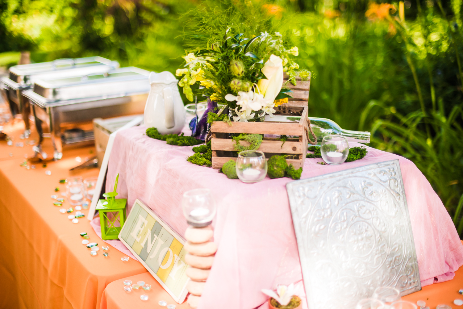 Spice of life catering.Photographed by JMGant Photography.