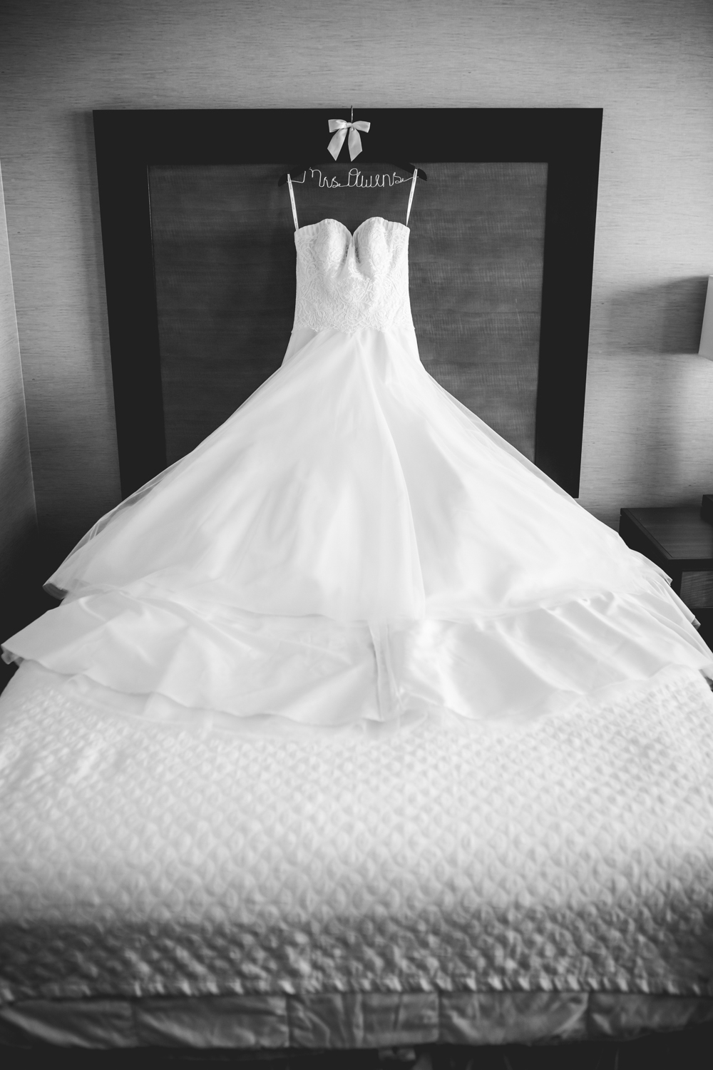 Wedding picture at Embassy Suite in Loveland. Photographed by Jared M. Gant of JMGant Photography