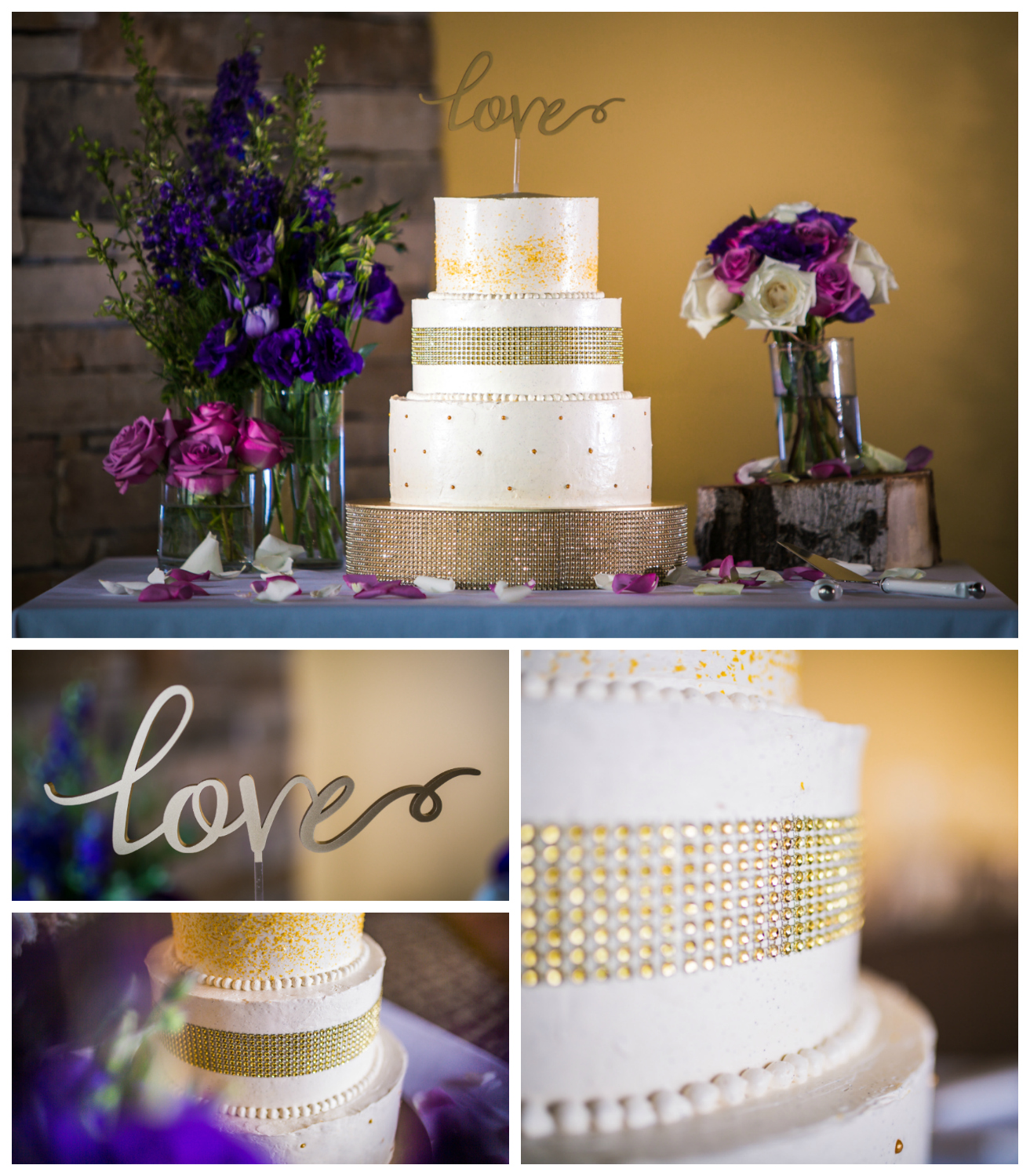 Mountain Cupcakes wedding deseret. Vail Colorado Wedding photographed by JMGant Photography.