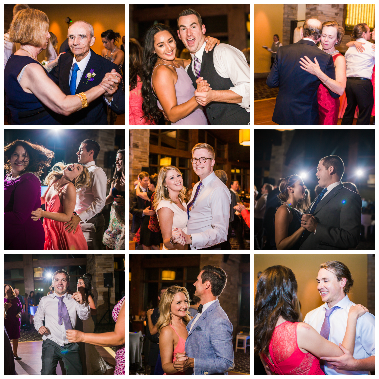 Party time! Vail Colorado Wedding photographed by JMGant Photography.