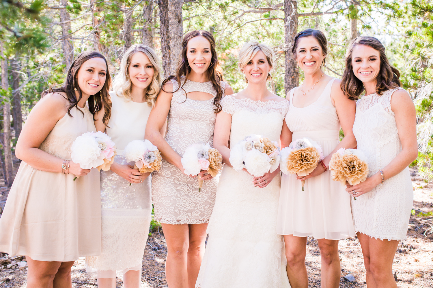 Bridesmaids for a day, best friends for life.