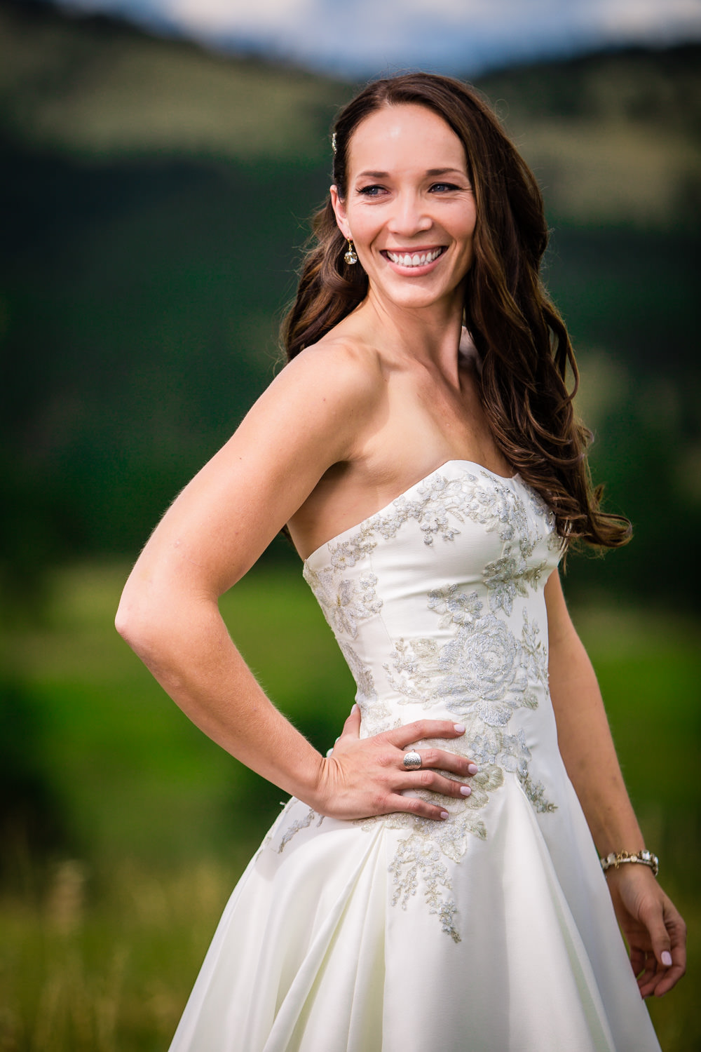 Bride at Golden Gate Canyon State Park