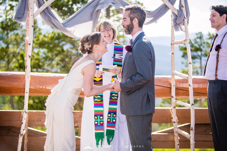 Lodge at Sunspot Wedding photographed by JMGant Photography.m