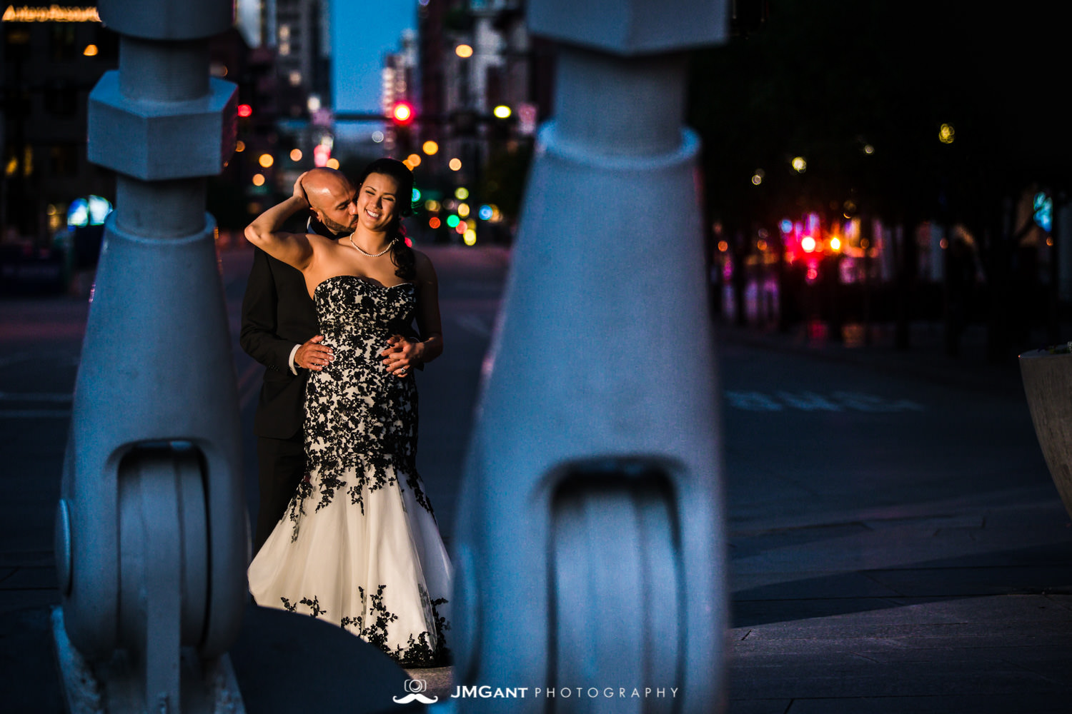 Downtown Denver Oxford Hotel Wedding Photographed by JMGant Photography