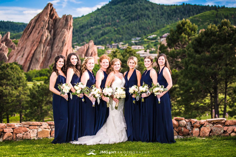 Arrowhead Golf Club summer wedding.