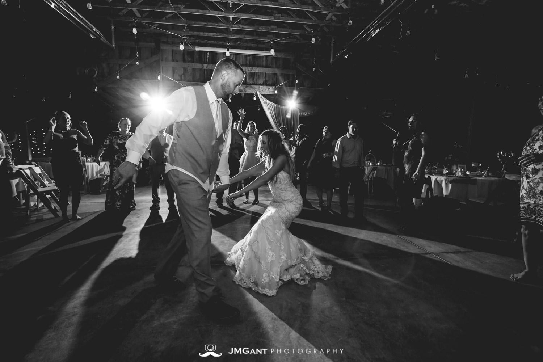 Platte River Fort Wedding | Barn reception | Greeley Colorado wedding photographer | © JMGant Photography | http://www.jmgantphotography.com/