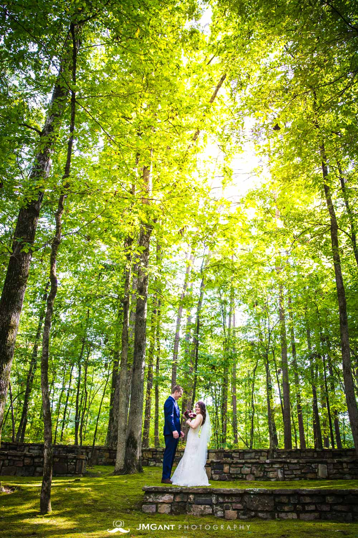 Anthony Chapel Wedding | first look |  Hot Springs Arkansas Wedding photographer | © JMGant Photography | http://www.jmgantphotography.com/