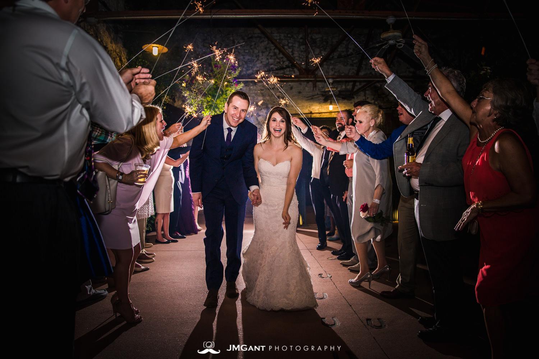 Anthony Chapel Wedding | sparkler send off | Hot Springs Arkansas Wedding photographer | © JMGant Photography | http://www.jmgantphotography.com/