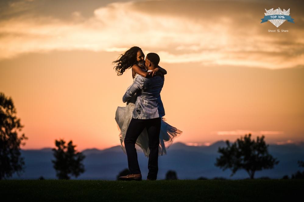 Saddleback Golf Course Longmont Colorado Wedding Photographer
