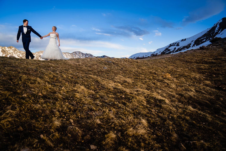Loveland Pass Firstlook by Colorado wedding photographer Jared M. Gant of JMGant Photography.