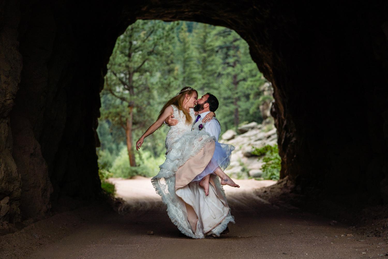 Tihsreed Ranch Wedding   Woodland Park Wedding Photographer   JMGant Photography