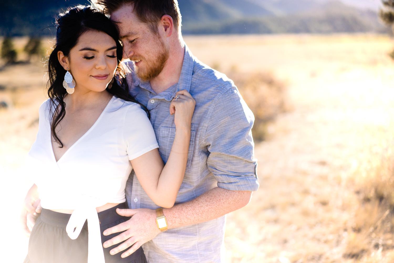 Rocky Mountain National Park Engagements | Estes Park Wedding Photographer | JMGant Photography