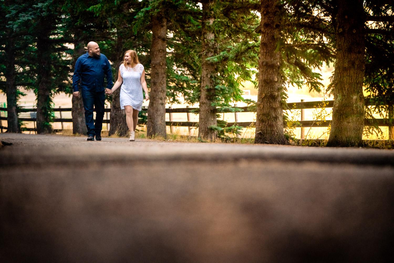 Colorado Fall Engagements | Bailey, Colorado Wedding Photographer | JMGant Photography