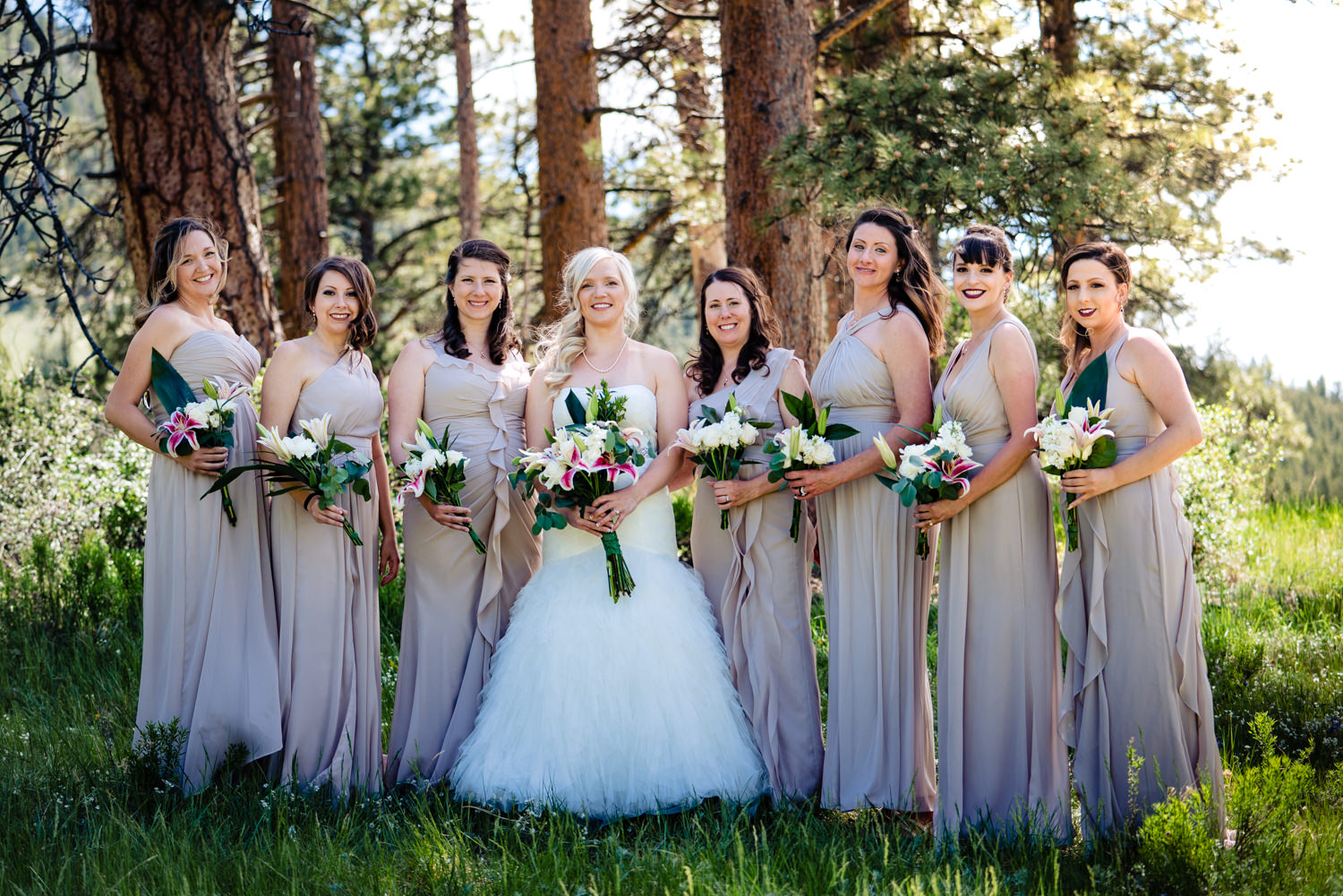 YMCA of the Rockies Wedding by Estes Park Wedding Photographer JMGant Photography.