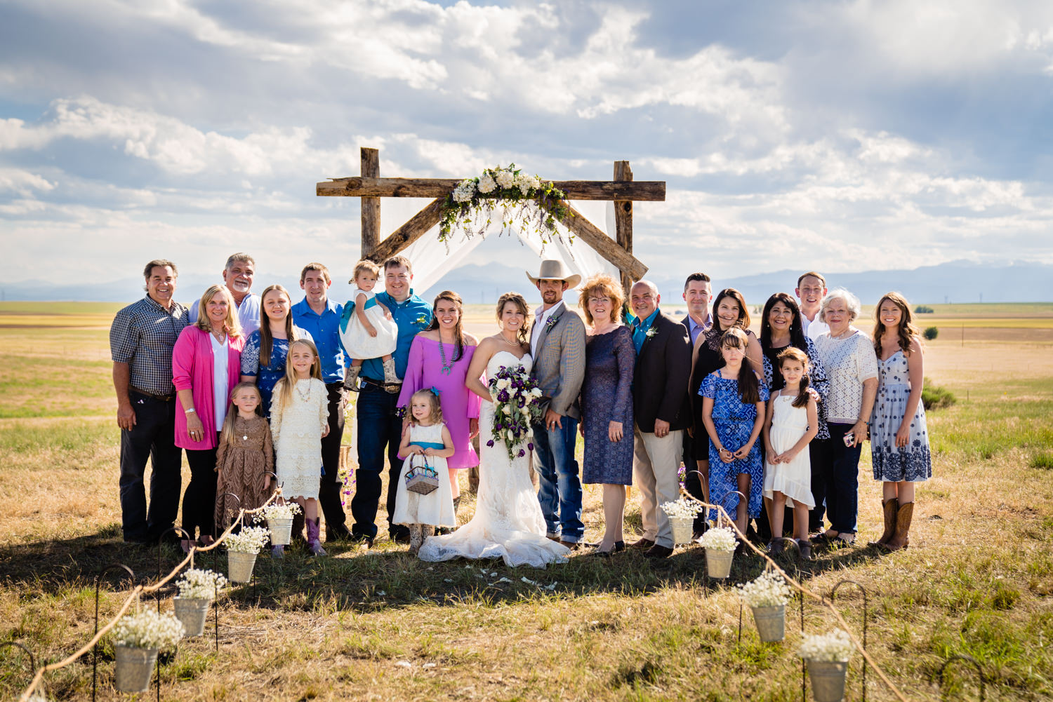 Nunn, Colorado wedding by Fort Collins, Colorado Wedding Photographer JMGant Photography.