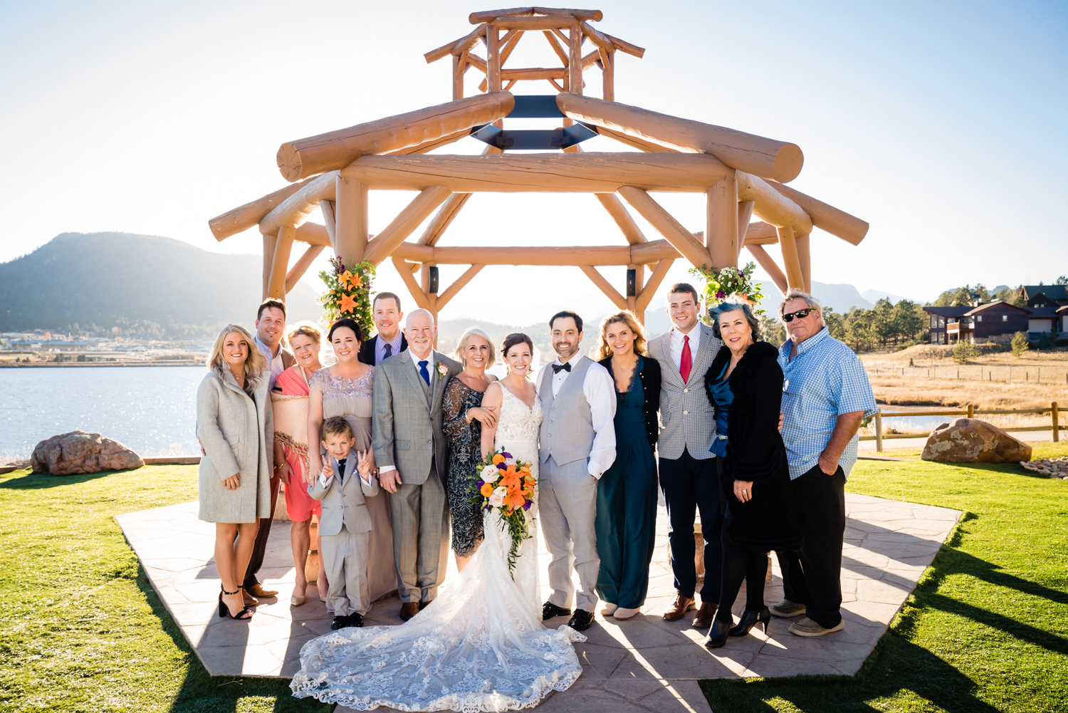 Estes Park Resort Wedding photographed by Estes Park Wedding Photographer,  JMGant Photography