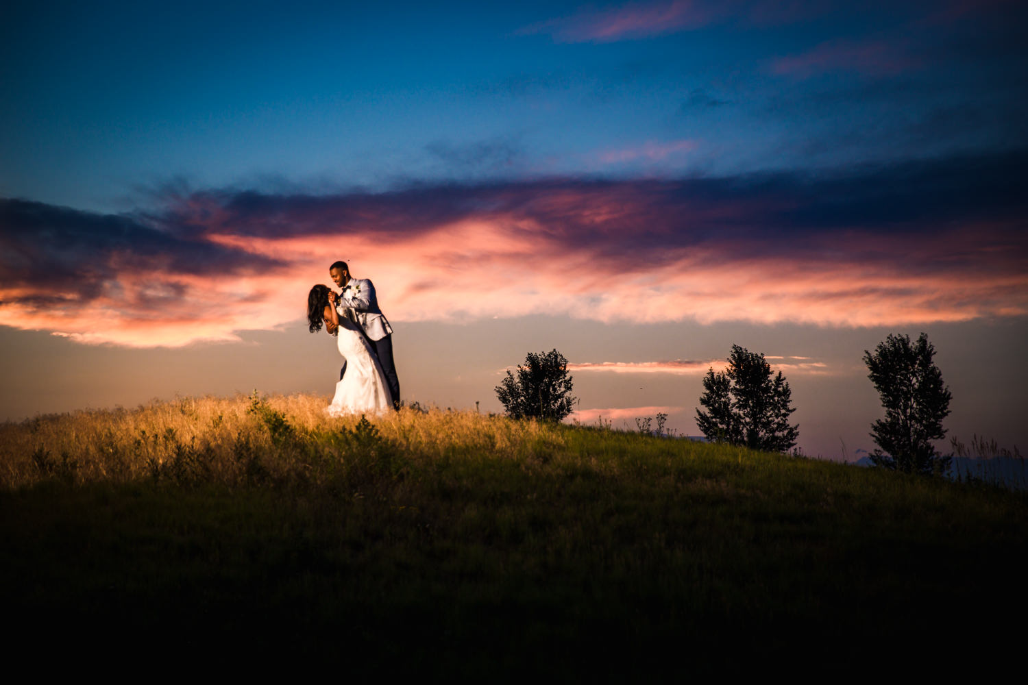 Rich and Paige's Wedding at Saddleback Golf Course in Firestone, Colorado