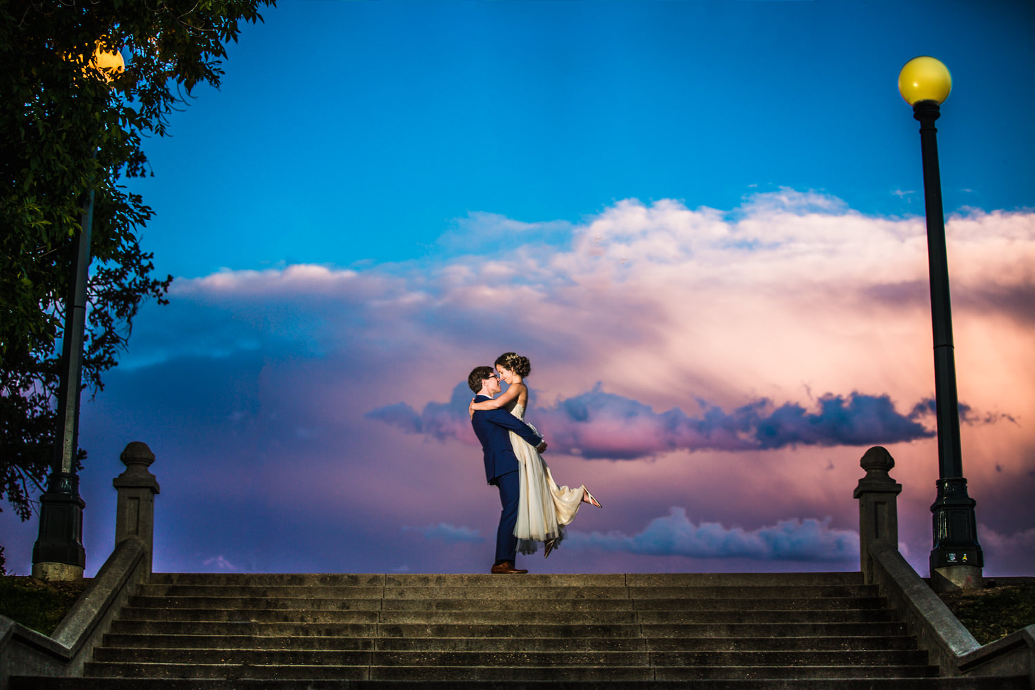 Wedding at City Park in Denver Colorado by Denver's best wedding photographer, JMGant Photography