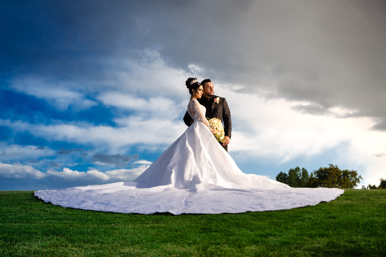 Denver Indian Wedding at the Omni Interlocken Resort. Photographed by JMGant Photography