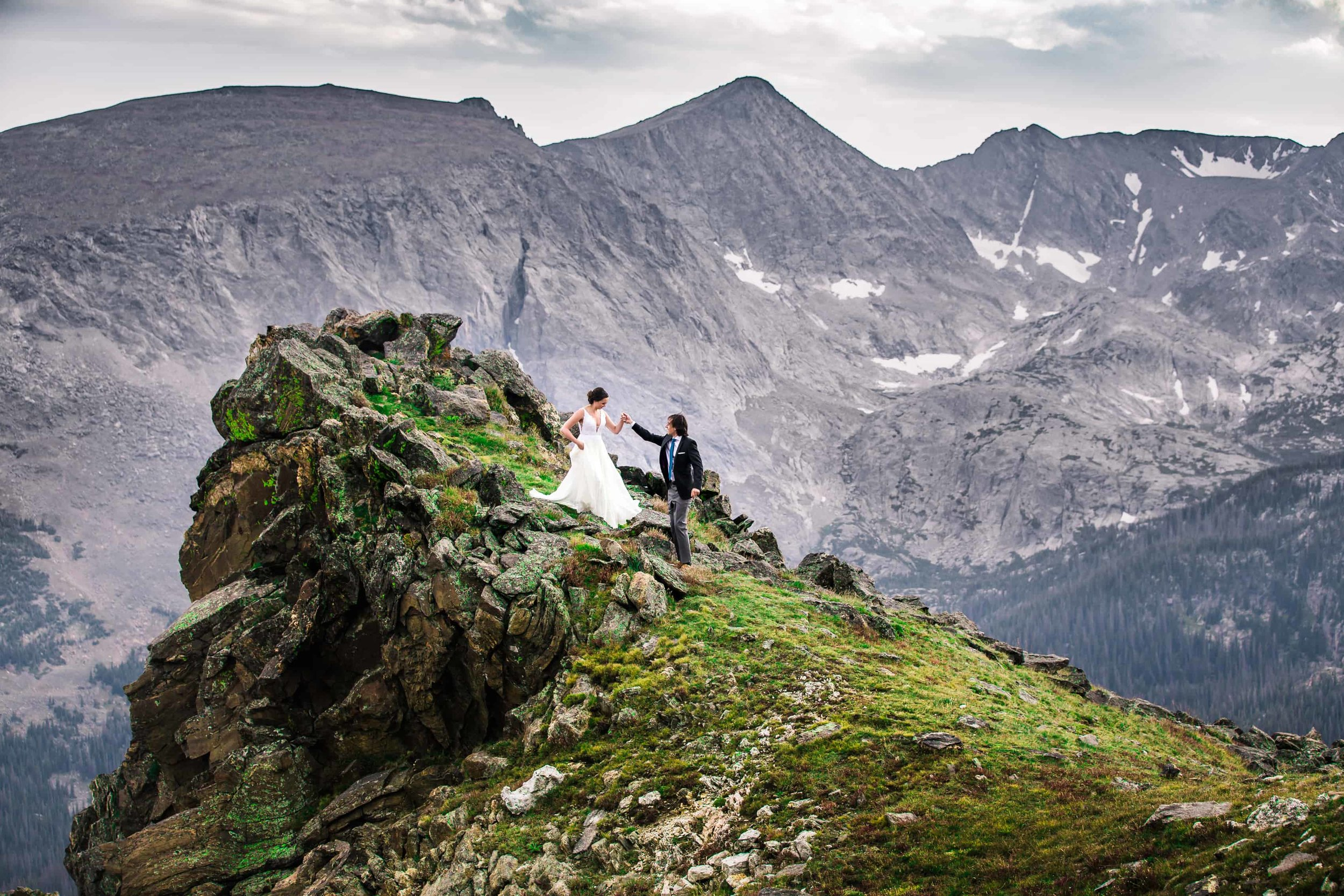 Colorado's best mountain wedding photographer