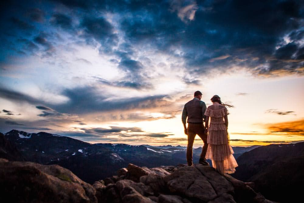 Colorado's Best Wedding Venue, near Rocky Mountain National Park - Della Terra Mountain Chateau.