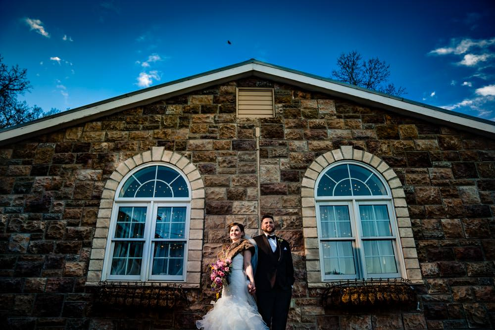 Bride and groom portraits - Tapestry House winter wedding by Fort Collins wedding photographer, JMGant Photography