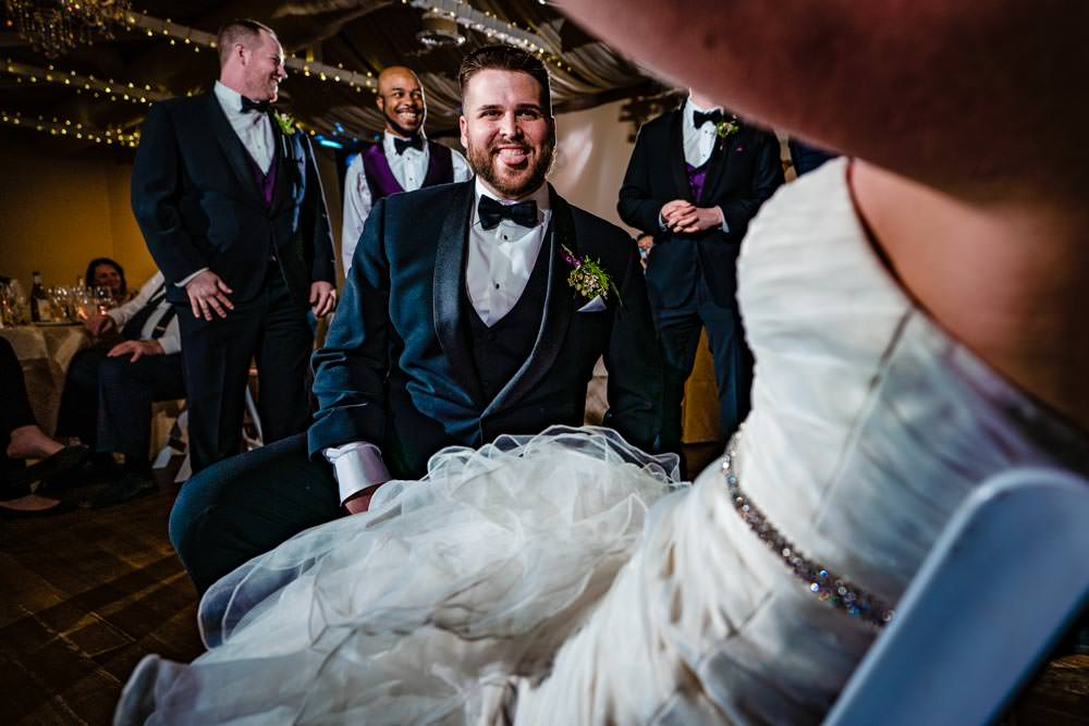 Tapestry House winter wedding by Fort Collins wedding photographer, JMGant Photography