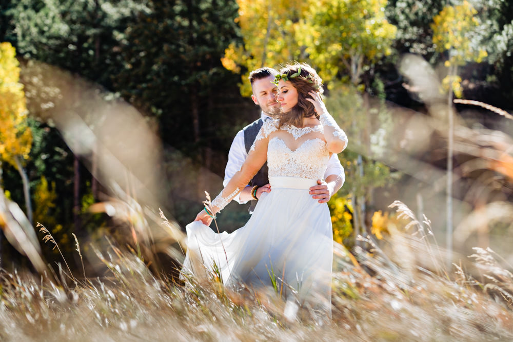 Morning wedding at Deer Creek Valley Ranch, designed by Glow events, photographed by JMGant Photography