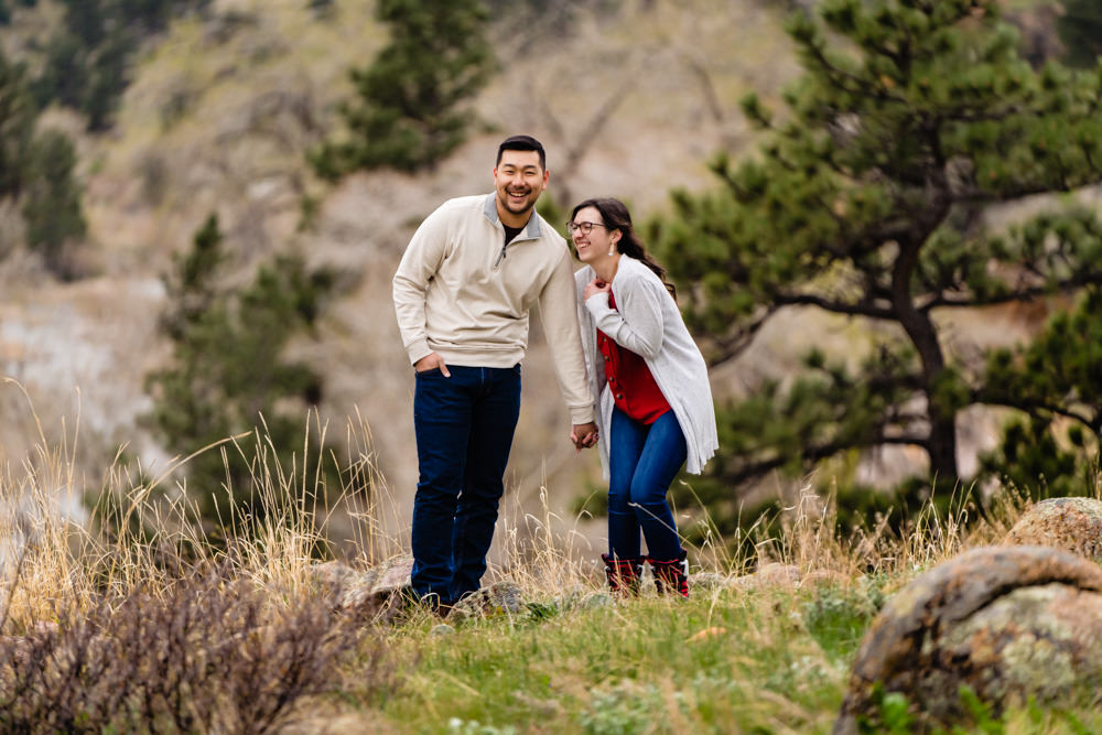 Lyons Colorado engagement photography by JMGant Photography