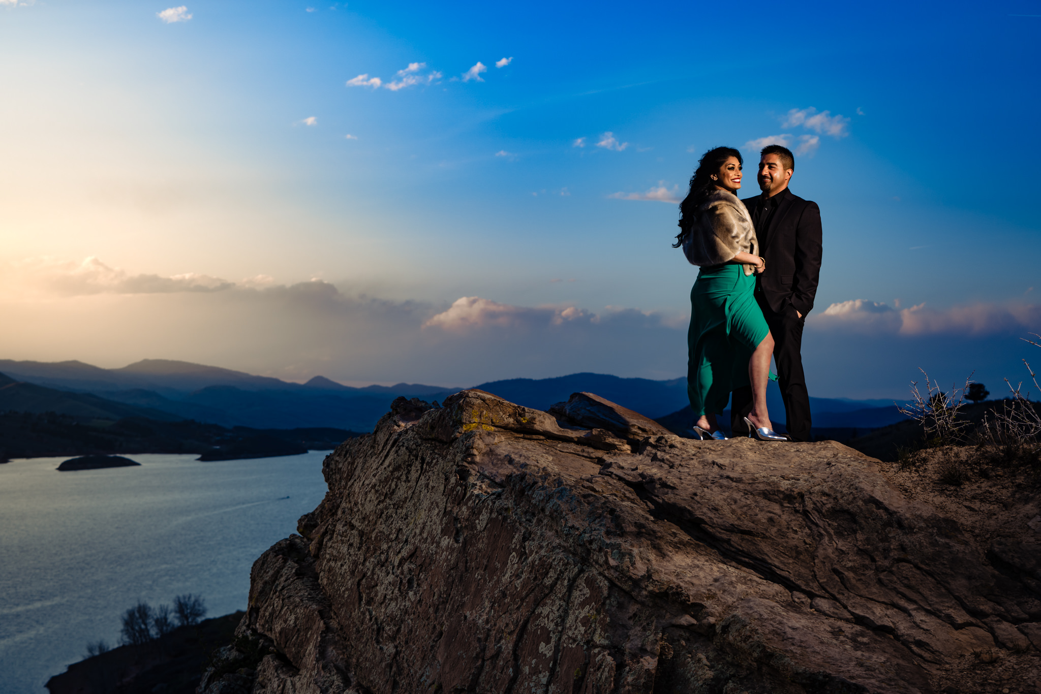 Horsetooth Reservoir Engagements by Fort Collins Wedding photographer, JMGant Photography