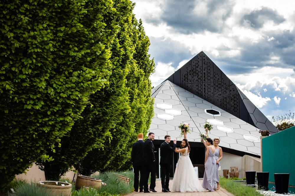 Denver Botanic Gardens Wedding by Colorado Wedding Photographer, JMGant Photography
