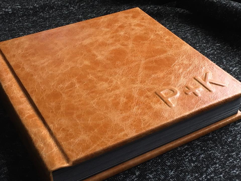 Handcrafted Black Smith Albums from JMGant Photography