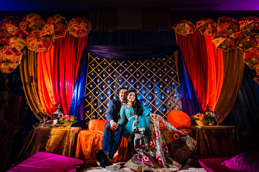 Denver Grand Hyatt Sangeet by photographer, JMGant Photography
