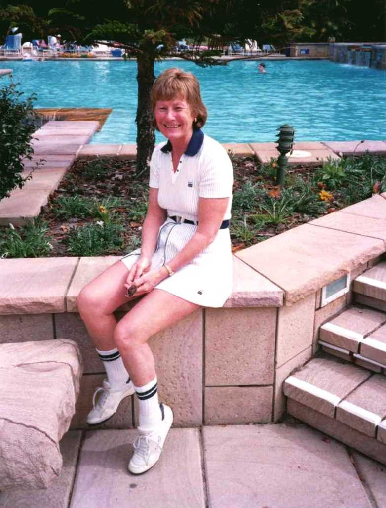 Dorothy, the sportswoman, in 1998