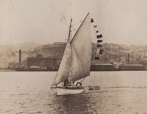 The Windward (Royal Port Nicholson Yacht Club archives)