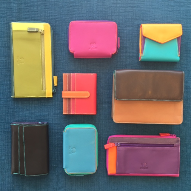 Super functional, super fun. These bright new beauties from mywalit are thoughtfully designed with a place to tuck everything.