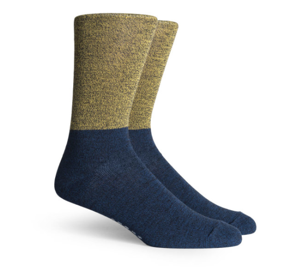 Two- Toned socks for the guys by Richer Poorer