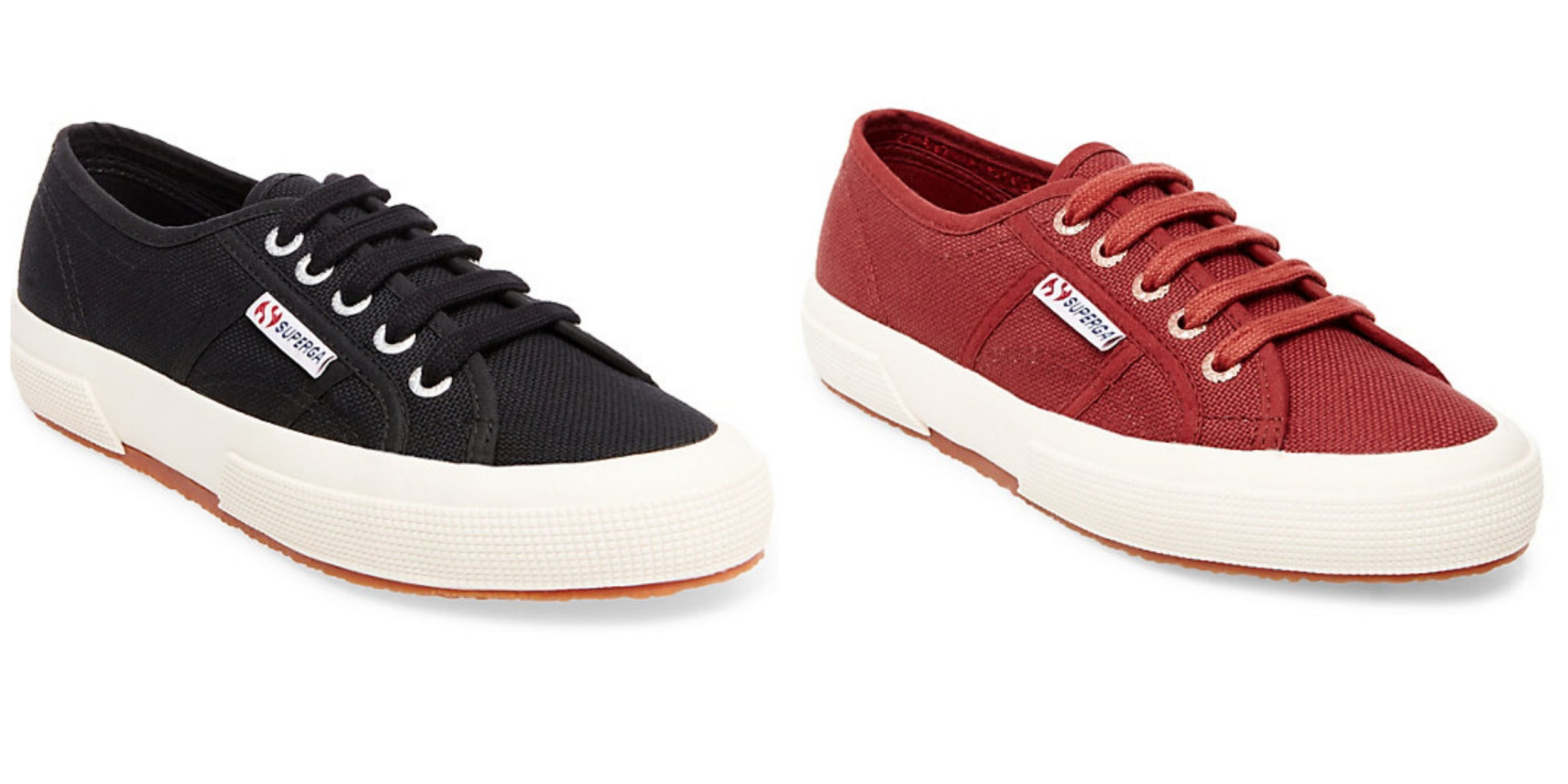 Superga sneakers, available at the Alberta location