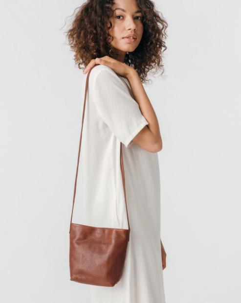 Baggu leather crossbody purse