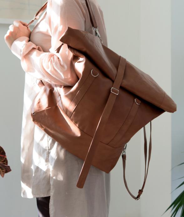 Rolltop Backpack, $149
