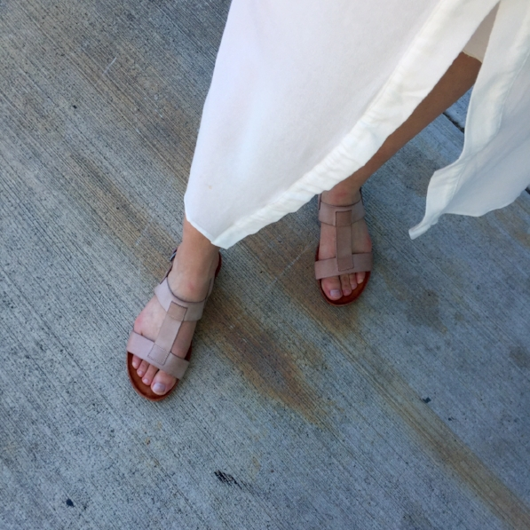 Cordani's Costamos sandal at our Alberta Street location.