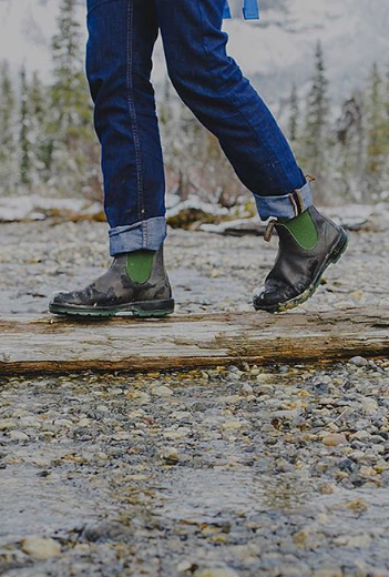 Take your Blundstones on all your outdoor adventures!