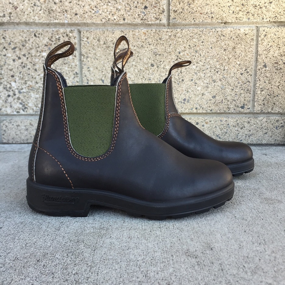 If you're hunting for a more casual boot that's fit for the Oregon wilderness, try out this Aussie brand, Blundstone.
