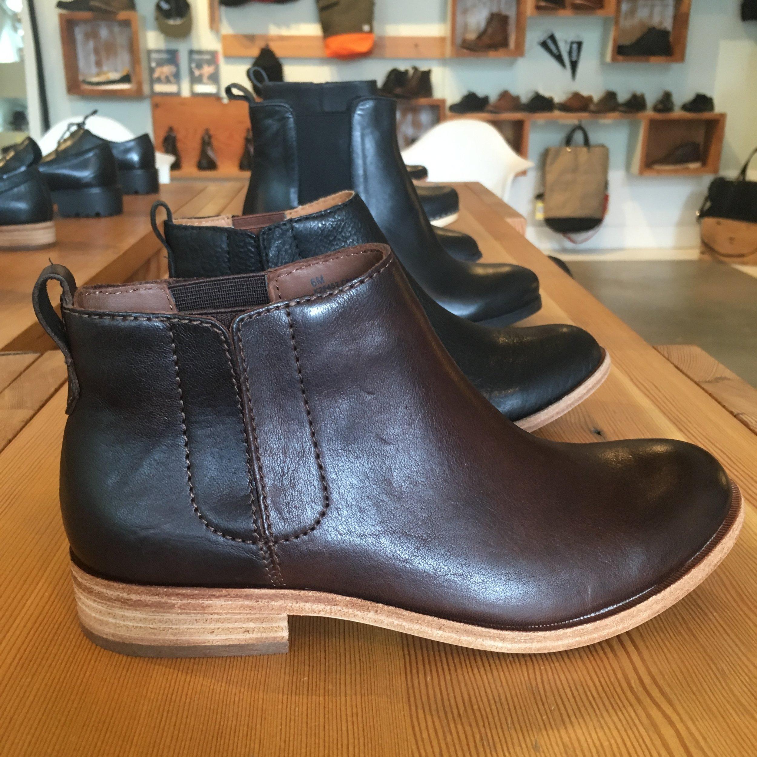 Kork-Ease Velma Boot, in deep brown and black, $190.00