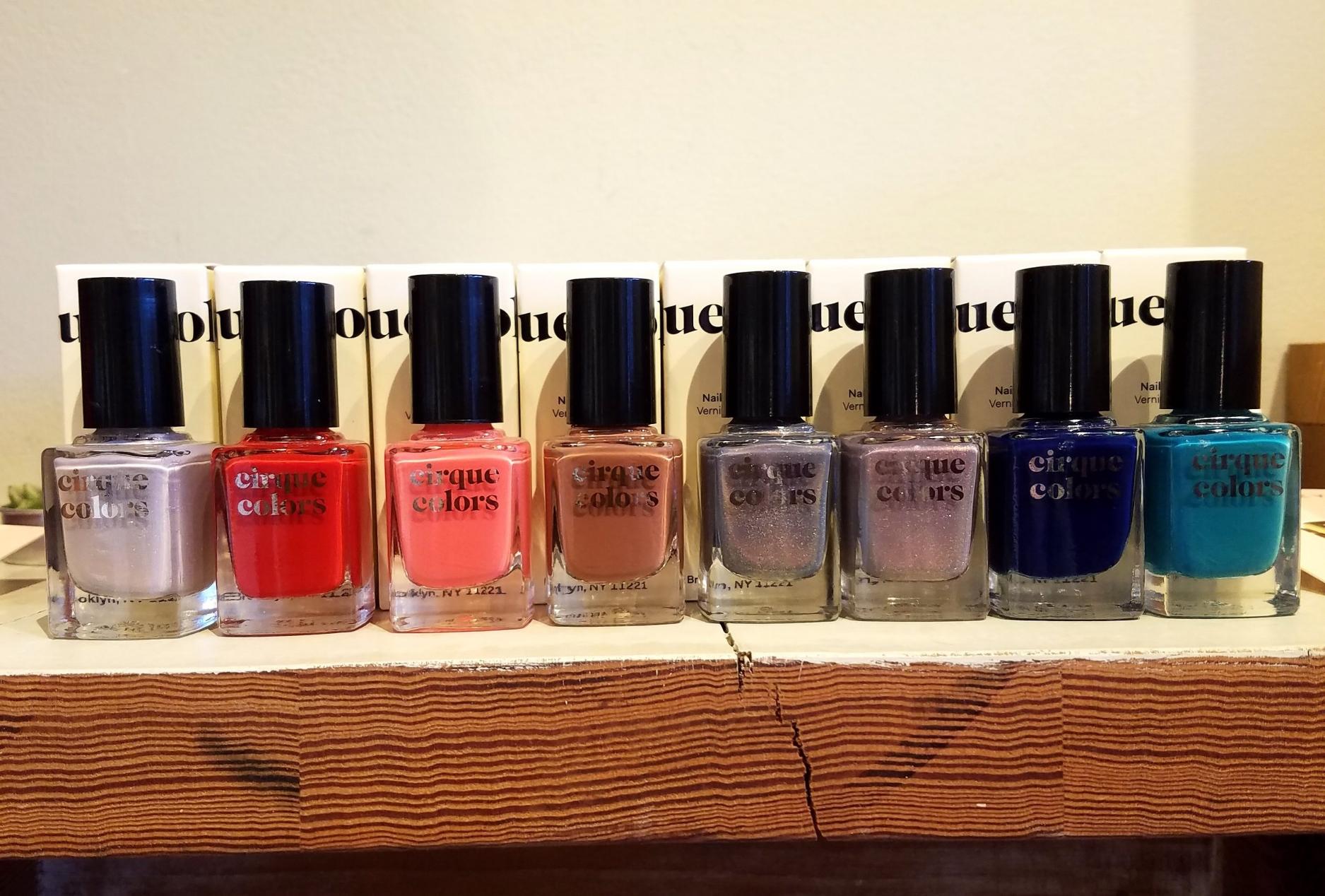 Cirque Colors nail polish will make anyone smile. $15