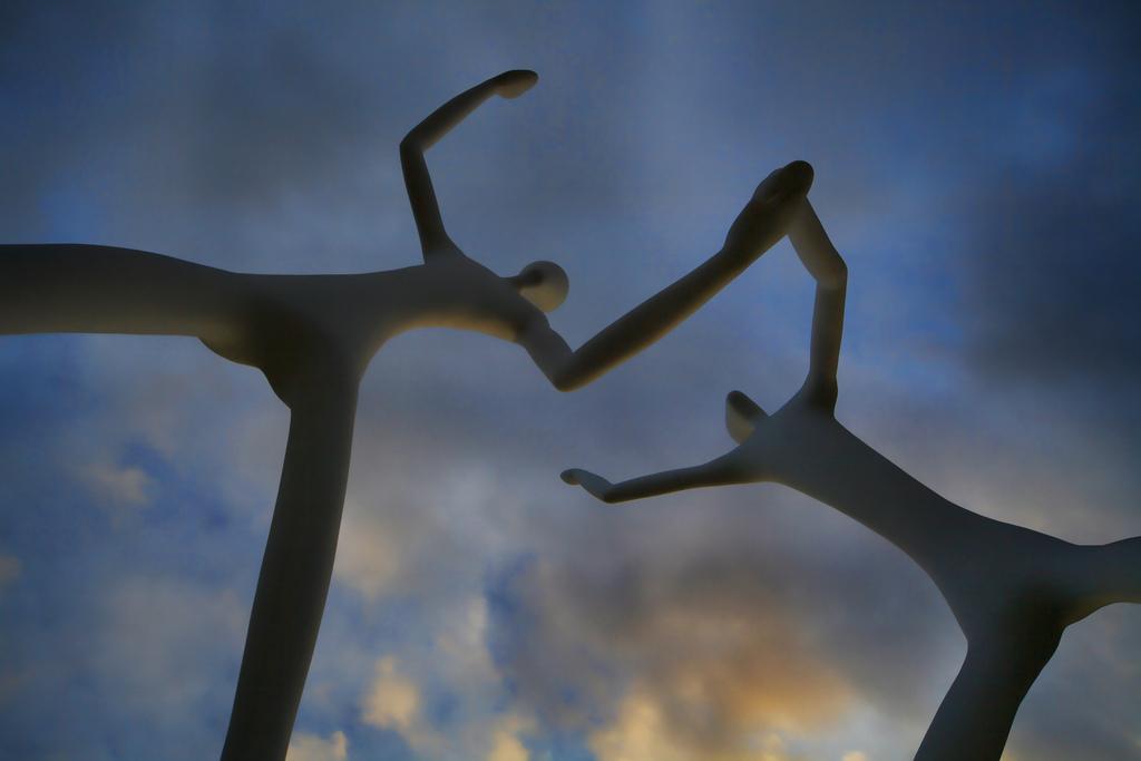 Let's dance. Photograph: Dixie Lawrence