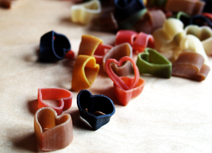 Why is there a gratuitious image of pasta in a song blog? Read on and find out ... Photograph: Sebastian Mary