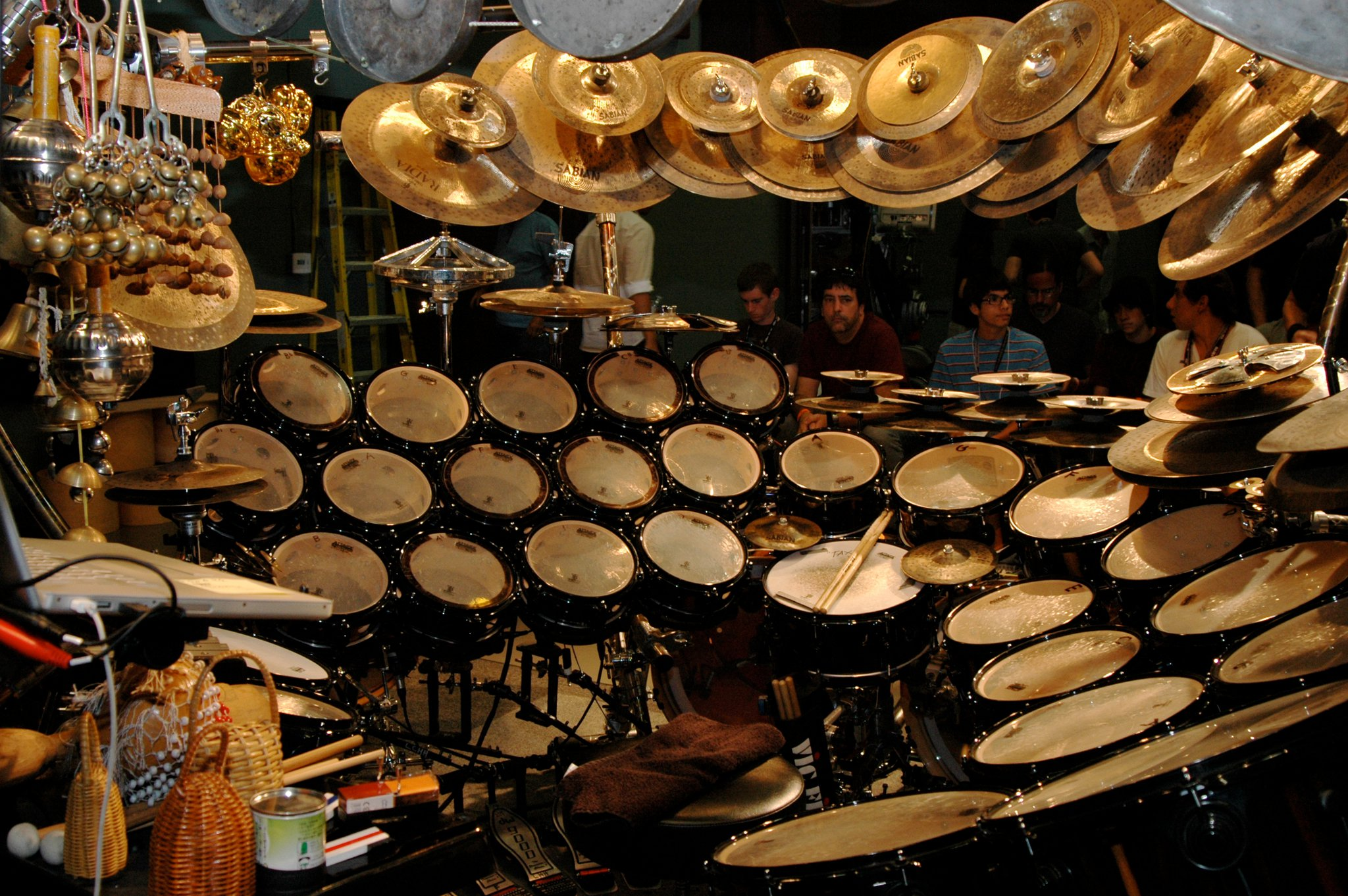 Terry Bozzio's big one
