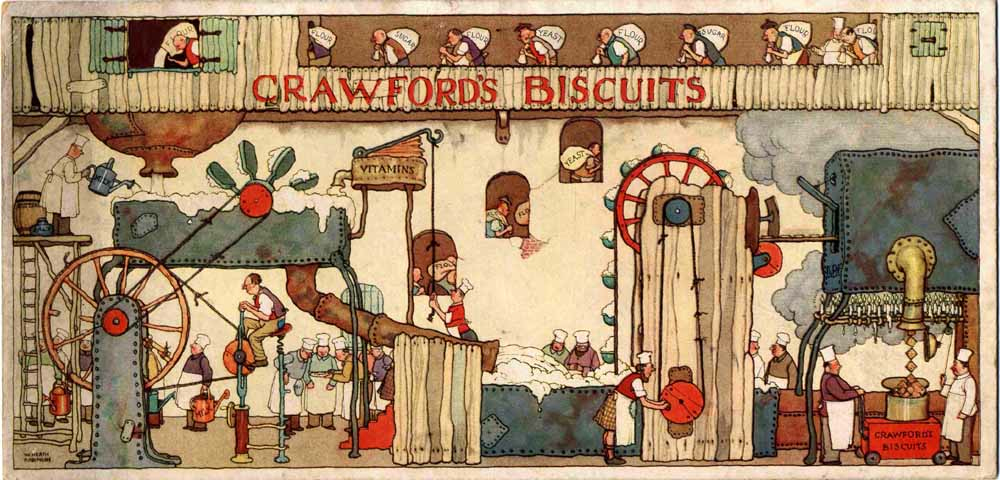 Taking the biscuit ... Heath Robinson