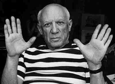 Pablo Picasso from his escaped prisoner period